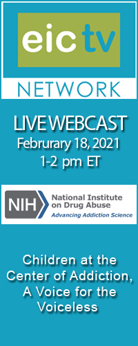 Live Webcast Children at the Center of Addiction, A Voice for the Voiceless