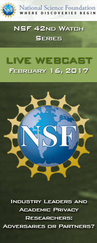NSF Watch Series Webcast