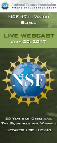 NSF 47th Watch Series Webcast<br />