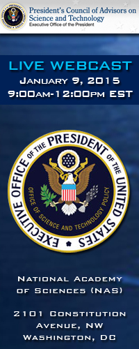 President's Council of Advisors on Science and Technology (PCAST)<br /><br />